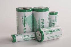 حجم 3.6 فولت D لبطاريات الليثيوم لجهاز GPS Er34615 Li-Socl2 بطارية ليثيوم أيون أساسية من نوع 19AH ذات سعة عالية NB-IoT