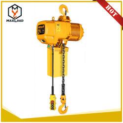 La operación de alto rendimiento 2t de elevación eléctrica elevador de cadena de la suspensión de gancho