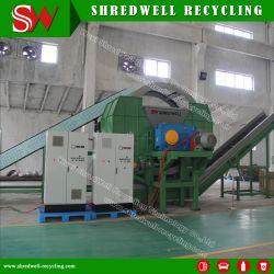 Завод по утилизации шин для тяжелого режима работы для измельчения используется/отходов шин легковых автомобилей
