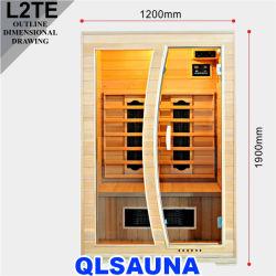 Nouveau Sauna Salle de chauffage en céramique L2te 2 Personne Sauna Infrarouge