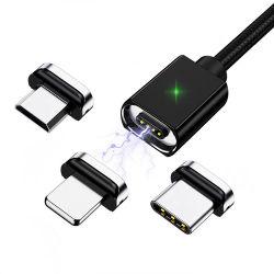 La esperanza de alta calidad de carga rápida de 3 a 3 en 1 Micro USB magnético la carga de transmisión de datos accesorios para teléfonos móviles mayoristas/accesorios para teléfonos móviles y accesorios