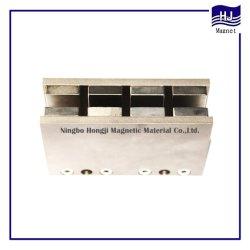 Magneet Voor Magnetische Componenten Van Lineaire Motoren Van Hoogwaardig Vierkant Blok Met Verschillende Afmetingen En Aangepaste Vorm