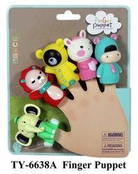 Engraçado de plástico em forma de animal marionetes de dedo