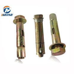 아연 도금 탄소강 슬리브 팽창 앵커 볼트 M6-M20/콘크리트용 팽창 앵커 볼트
