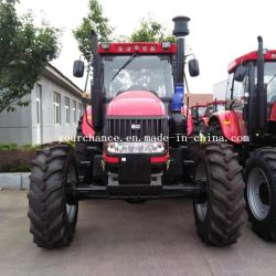 2020セリウムの証明書が付いている熱い販売のトラクターDq1504 150HP 4X4 4WDの大きい農業の車輪の農場トラクターの農業の耕作トラクター