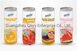 300 мл прозрачный ПЭТ-Тин газированные напитки газированной воды с фруктовый сок