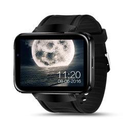 Lemfo Lem4 androides intelligentes Uhr-Protelefon 1GB 16GB 1200 Nano SIM Kamera MP4 3G Smartwatch der Milliamperestunden-Batterie-Unterstützungs-GPS-WiFi Karten-130W
