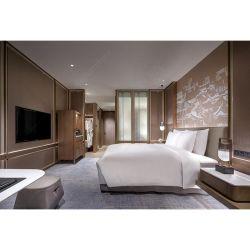 Hôtel 5 étoiles moderne sur mesure projet très grand lit Chambre à coucher Mobilier de l'hôtel défini