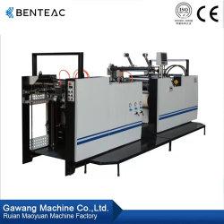 Laminatore di ritrattamento di alta di posizione di precisione di prestazione della fusione della colla stampa calda regolare Semi-Automatica dell'alberino