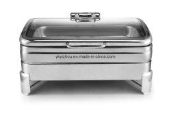 Stufa di lusso del buffet di alta qualità della fornace del buffet del piatto di logoramento dell'acciaio inossidabile