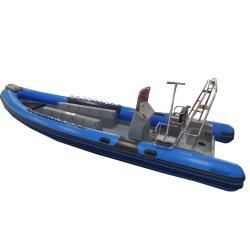 20 راكبًا ماليزيا ريب 880 عالية الأداء في ديب في كييل قارب مطاطي الأضلاع لسرعة عالية