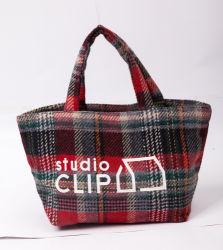 Feather Fashion Sacs à main les femmes de l'emballage réutilisable d'épicerie Shopping sac fourre-tout en toile de coton