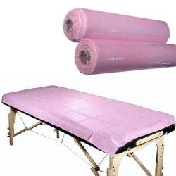 De geperforeerde Roze Beschikbare Bladen van het Broodje van het Bed voor Massage Gezichts