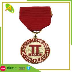 De ovale Medaille van het Gewichtheffen van het Kenteken van de Vertoning van de Toekenning van de Afwerker van de Douane (023)