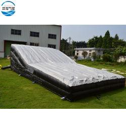Custom Outdoor Big gonflable airbag de saut à ski ou de stopper l'atterrissage, fait en usine de vélo BMX Stunt Air Bag gonflable