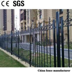 Anti-rouille ductile enduit de poudre économique ornementales Tron Backyard clôtures de protection des renseignements personnels