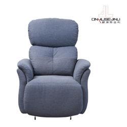 La moderna estructura elegante y simple función de bastidor de acero único sofá reclinable