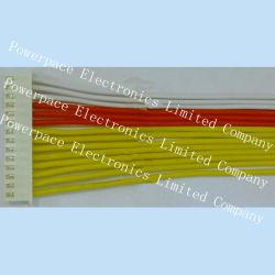 De witte, Rode, Gele Assemblage van de Kabel van de Draad Electornic