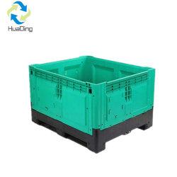 La Caja de fruta de plástico plegables de plástico apilables Caja Palet