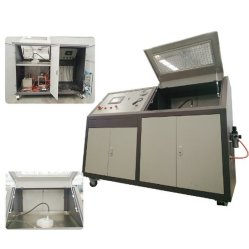 수동 제어 브레이크 호스 또는 관 또는 관 파열 압력 시험 기계 장비