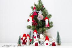 Les articles promotionnels un jouet en peluche cadeau de Noël Décoration de l'arbre