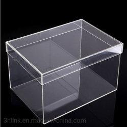 Caixas de Exibição de acrílico transparente de plástico alimentar visor caixa de acrílico