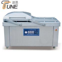 De dubbele Machine van de Verpakking van de Kamer Vacuüm voor Vlees/Overzees Voedsel/Groente