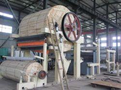 2400mm de la fabrication du papier Machine de traitement de la machine avec les déchets de papier