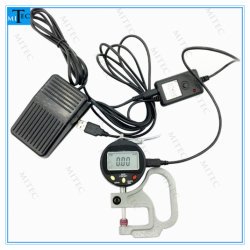 O indicador digital eletrônica de tipo Mitutoyo medidor de espessura de 0,01mm com cabo de dados