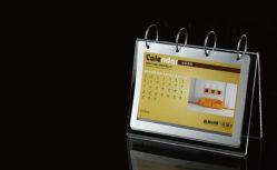 オフィスのギフトのアクリルの卓上カレンダーの表示