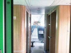HPL face contreplaqué résistant au feu des composants intérieurs pour chemin de fer, Bullet train,