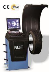 El neumático automático en 3D de la rueda del equilibrador de máquina de equilibrado con CE