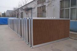 Granja Avícola de efecto invernadero/Marco de aleación de aluminio de pared de la almohadilla de refrigeración por evaporación