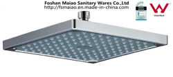 Wels Approved Bathroom Sanitary Ware Abs Square Shower Head (Arp1025)