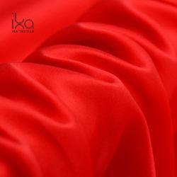 Transporte de moda por grosso de seda natural 16mm de espessura acetinado Vermelho Senhoras Fabric
