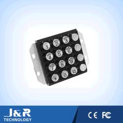 لوحة مفاتيح مقاومة للرياح، لوحة مفاتيح معدنية للهاتف في السجن، لوحة مفاتيح مقاومة لعوامل الطقس