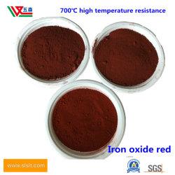Super Fine de óxido de ferro vermelho tinta plástica pintura especial couro H101
