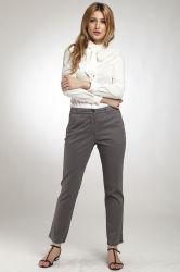 Gris urbain décontracté Straight Women's Denim Jeans