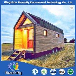Luz de Estrutura de aço Movble Prefab RV House para viagens / Camp