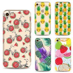 De Telefoon Coque van het fruit voor de Dekking van het iPhone6s Geval TPU voor iPhone 10 X 4 4s 5 5s Se 5c 6 7 8 plus het Maximum Geval van Xr Xs voor iPhone 7plus Fundas Ypf31-21