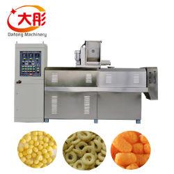 Die luftgestoßene Chip-Mais-Reis-Ring-Rotation-Stock-Kern-füllende Käse-Kugel, die Doppelschrauben-Frühstückskost- aus GetreideCoco-Knall Kurkure aufbläst, briet die Imbiß gebratene Stab-Nahrung, die Maschine herstellt