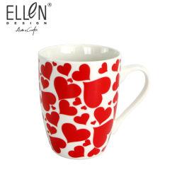 12oz Día de la madre Regalo Promocional cerámica taza de café