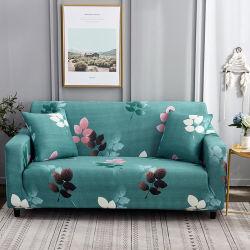 Esticar Sofá cama Exact padrão impresso Slipcovers Tampa para três Mobiliário Almofada Protector do Pams animais de estimação