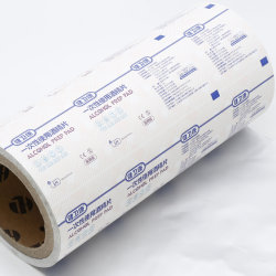 Carta Stagnola In Alluminio Per Tamponi Di Preparazione Alcool