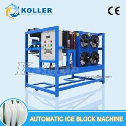 1 Tonnen-industrielle automatische Eis-Block-Maschine mit Nahrungsmittelstandard