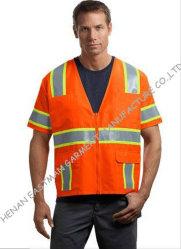 Sicurezza arancione Workware dell'alto nastro riflettente uniforme di visibilità