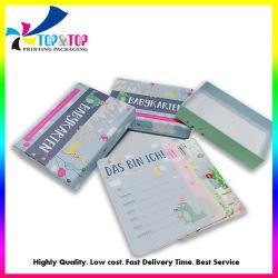 بطاقة فلاش ورق الطباعة الملونة المخصصة للمصنع الصيني بطاقة هدية لتعليم الأطفال