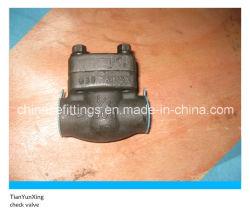 ANSI Tipo Pistón de acero forjado Rosca válvula de retención