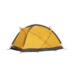 4 季節の 2 側面シリコーンの屋外キャンプ防水二重層贅沢 テント