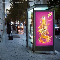 Im FreiendigitalSignage, der Video-Player-Straßenlaterne-Plakat-Bildschirm LED-Bildschirmanzeige auf dem Polen bekanntmacht